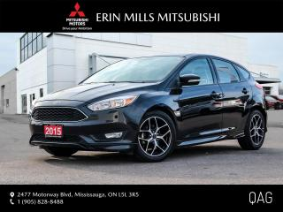 Used 2015 Ford Focus Hatchback SE NO ACCIDENTS ONE OWNER LOW KMS SUNROOF for sale in Mississauga, ON