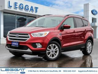 Used 2017 Ford Escape SE - 201A, AWD, NAVIGATION, POWER LIFTGATE, REAR PARK ASSIST, SOLD HERE & TRADED HERE! - for sale in Stouffville, ON