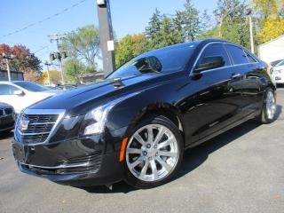Used 2017 Cadillac ATS Sedan 2.0T 6 SPEED MANUAL ONE OWNER SUNROOF 37KMS for sale in Burlington, ON