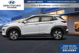 New 2021 Hyundai KONA Electric Ultimate  - Navigation for sale in Abbotsford, BC