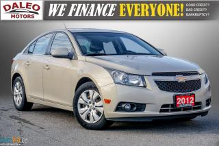 Used 2012 Chevrolet Cruze LT TURBO W /1SA / BUCKET SEATS / for sale in Hamilton, ON
