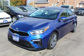 Used 2019 Kia Forte EX+ SUNROOF for sale in Brampton, ON
