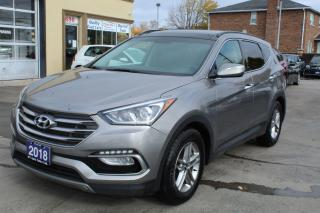 Used 2018 Hyundai Santa Fe Sport Luxury Pano Roof Leather for sale in Brampton, ON