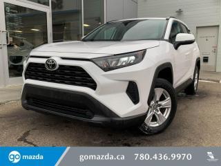 Used 2019 Toyota RAV4 LE AWD HEATED SEATS B/U CAM for sale in Edmonton, AB