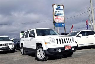 Used 2014 Jeep Patriot No accidents |4WD |North Edition for sale in Brampton, ON