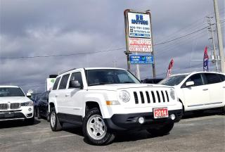 Used 2014 Jeep Patriot No accidents |4WD |North Edition| Certified for sale in Brampton, ON