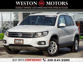 Used 2016 Volkswagen Tiguan TSI*POWER GROUP*REVERSE CAMERA for sale in Toronto, ON