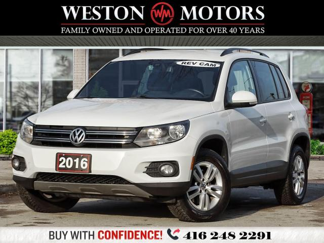 2016 Volkswagen Tiguan TSI*POWER GROUP*REV CAM!!*
