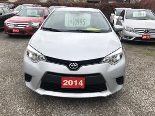 Used 2014 Toyota Corolla LE for sale in Hamilton, ON