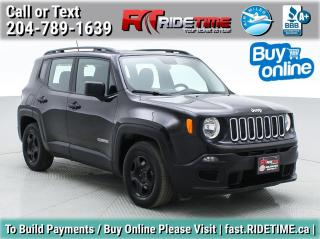 Used 2015 Jeep Renegade Sport for sale in Winnipeg, MB