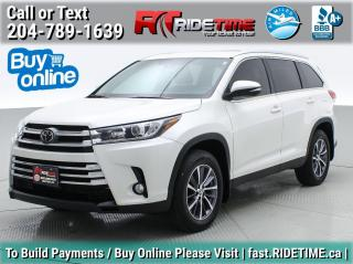 Used 2019 Toyota Highlander XLE for sale in Winnipeg, MB