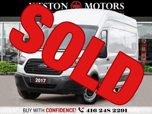 2017 Ford Transit 350 HIGHROOF*148 EXTENDED WHEELBASE*REVCAM*