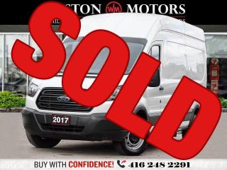 Used 2017 Ford Transit 350 HIGHROOF*148 EXTENDED WHEELBASE*REVCAM!* for sale in Toronto, ON