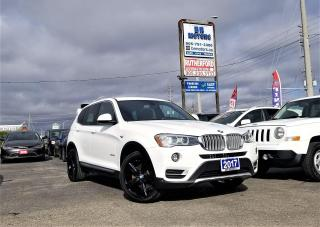 Used 2017 BMW X3 No Accidents| AWD |28i| Heated Seats| LOW KM for sale in Brampton, ON