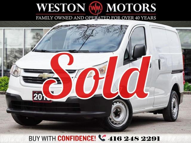 2015 Chevrolet City Express LT*4CYL*TRACTION CONTROL*BLUETOOTH