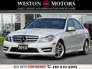Used 2012 Mercedes-Benz C-Class AWD*C250*4MATIC*LEATHER* for sale in Toronto, ON