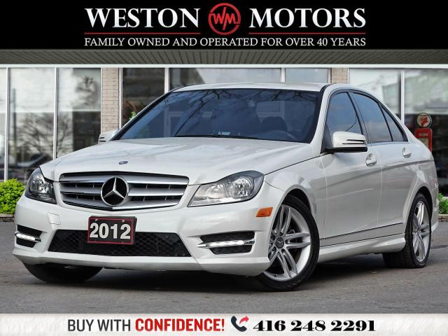 2012 Mercedes-Benz C-Class AWD*C250*4MATIC*LEATHER*