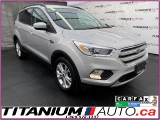 Used 2018 Ford Escape SEL+GPS+Pano Roof+Leather+Camera+Park Sensors for sale in London, ON