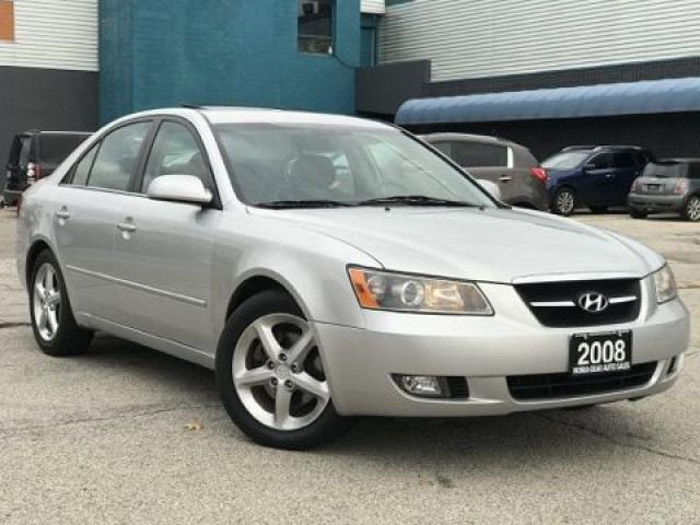 2008 Hyundai Sonata |Leather|Sunroof|Accident free|Certified