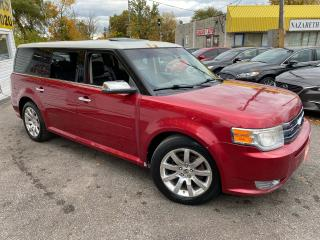 Used 2009 Ford Flex LIMITED/ AWD/ DVD/ LEATHER/ SUNROOF/ ALLOYS ++ for sale in Scarborough, ON