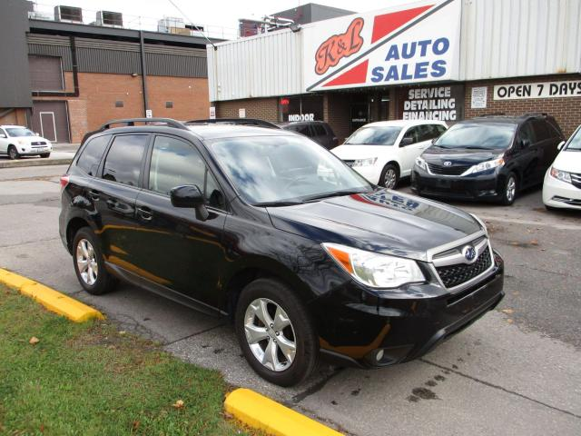 2014 Subaru Forester AWD ~ BACK UP CAM ~ PWR TRUNK ~ PANO ROOF