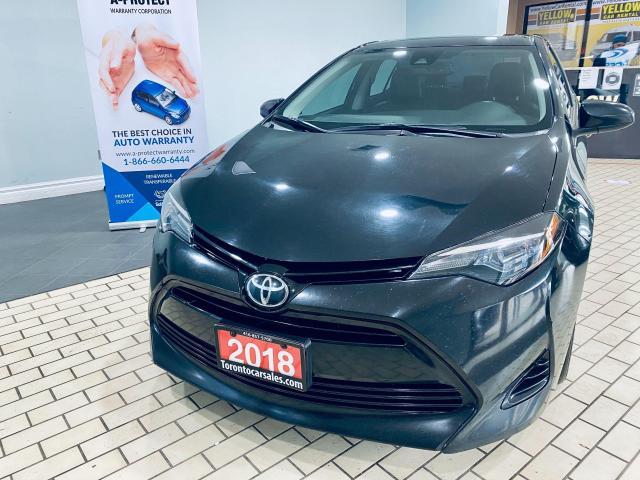 2018 Toyota Corolla XLE I NAVI I LEATHER ISUNROOF I REAR CAMERA $15999