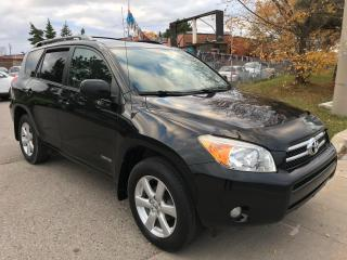 Used 2008 Toyota RAV4  AWD LTD,ALLOYS,S/R,AWD,SAFETY+3YEARS WARRANTY INCLUDED for sale in Toronto, ON