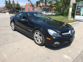 Used 2011 Mercedes-Benz SL 550 CONVERTABLE,KEYLESS GO,MINT,SAFETY INCLUDED for sale in Toronto, ON