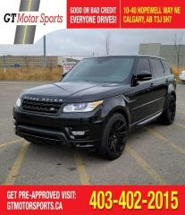 Used 2015 Land Rover Range Rover Sport V8 SC Autobiography Dynamic | $0 DOWN - EVERYONE | for sale in Calgary, AB