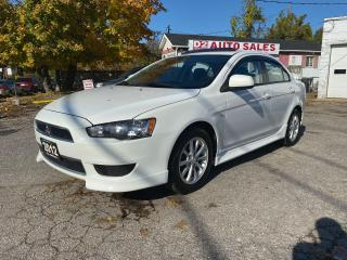 Used 2012 Mitsubishi Lancer SE/5 Speed Manual/Bluetooth/Comes Certified for sale in Scarborough, ON