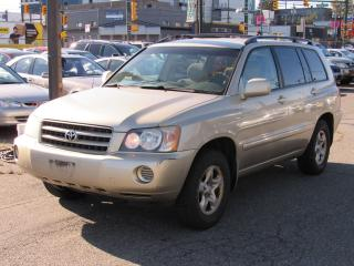 Used 2003 Toyota Highlander BASE for sale in Vancouver, BC