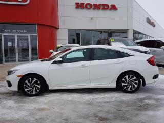 Used 2018 Honda Civic EX no accidents, sunroof, heated seats, apple carplay, android auto for sale in Winnipeg, MB