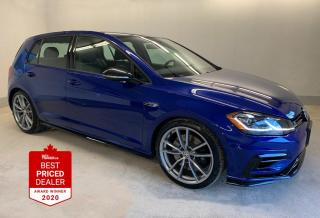 Used 2018 Volkswagen Golf R 4MOTION 292HP *ALL WHEEL DRIVE - NAVIGATION* for sale in Winnipeg, MB