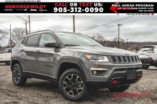 New 2021 Jeep Compass Trailhawk Elite | Sun & Sound | Advanced Safety | for sale in Hamilton, ON