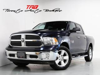 Used 2016 RAM 1500 SLT I CREW CAB I CAM I 1-OWNER I LOCAL VEHICLE for sale in Vaughan, ON