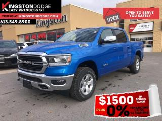 New 2021 RAM 1500 Big Horn | Bed Utility Group | Heated Seats | Remo for sale in Kingston, ON