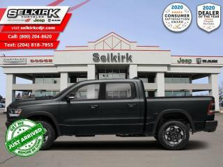 New 2021 RAM 1500 Rebel - HEMI V8 - Sunroof for sale in Selkirk, MB
