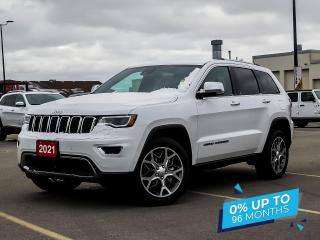 New 2021 Jeep Grand Cherokee Limited | Adaptive Cruise | Ventilated Front Seats for sale in Kitchener, ON