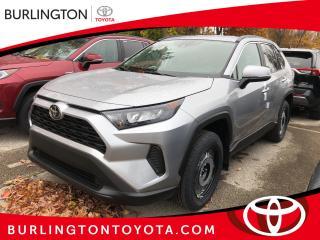 New 2021 Toyota RAV4 LE FWD for sale in Burlington, ON