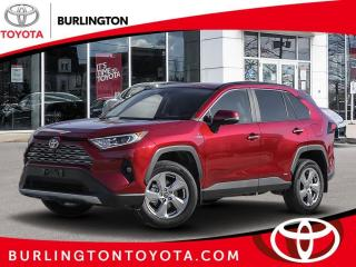 New 2021 Toyota RAV4 Hybrid Limited AWD for sale in Burlington, ON