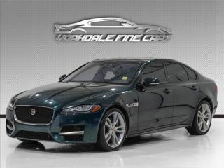 Used 2017 Jaguar XF 35t R-Sport Navigation, Camera, Roof, No Accidents, Loaded for sale in Concord, ON