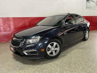 Used 2015 Chevrolet Cruze 2LT CLEAN CARFAX 6 SPEED LEATHER SUNROOF for sale in North York, ON
