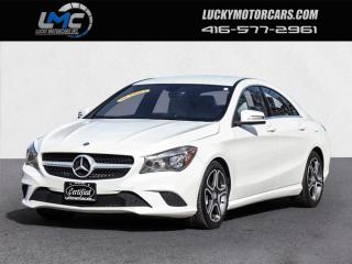 Used 2014 Mercedes-Benz CLA-Class CLA250 4MATIC-BACKUP CAM-WHITE LEATHER-NO ACCIDENTS for sale in Toronto, ON