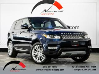Used 2016 Land Rover Range Rover Sport HSE|Navigation|Heads Up Disp|Soft Close Doors|Pano Roof for sale in Vaughan, ON