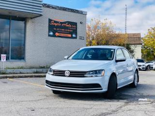 Used 2017 Volkswagen Jetta Sedan 4DR 1.4 TSI AUTO WOLFSBURG EDITION for sale in Barrie, ON