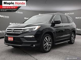 Used 2016 Honda Pilot Touring| Loaded| Leather| Navi| DVD| for sale in Vaughan, ON