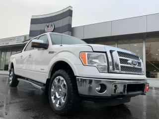 Used 2011 Ford F-150 Lariat 4WD LB ECO-BOOST LEATHER LOADED for sale in Langley, BC