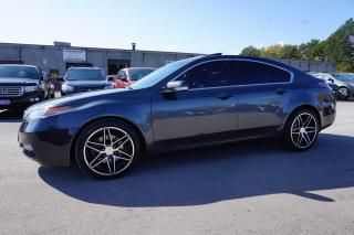 Used 2012 Acura TL TECH Pkg CERTIFIED 2YR WARRANTY NAVI CAMERA SUNROOF SHIFTERS BLUETOOTH for sale in Milton, ON