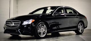 Used 2018 Mercedes-Benz E-Class E400 4MATIC TEXT.US 647.678.7778  NAVI PANOROOF HEADSUP DISPLAY  for sale in Mississauga, ON