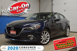 Used 2015 Mazda MAZDA3 GT 2.5L SkyActiv | LEATHER | HEADS UP DISPLAY for sale in Ottawa, ON
